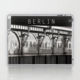 Jannowitzbruecke - Berlin - B&W Laptop & iPad Skin