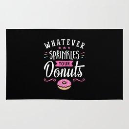 Whatever Sprinkles your Donuts v2 Rug