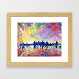 Brilliant Dawn Framed Art Print