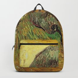 Vincent Van Gogh Skull Painting Backpack