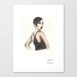 Josephine | Black HERstory Canvas Print