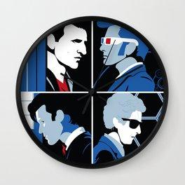 The 4 Doctors (2005-2018) Wall Clock