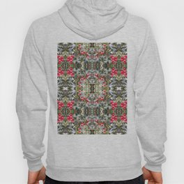 Very Berry Holly Christmas Multi Fractal from Photo 804 Hoody