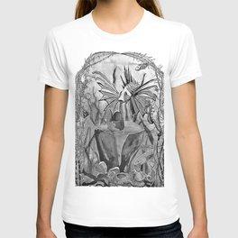 Underwater ink illustration T-shirt