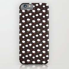 Rainclouds Black Slim Case iPhone 6s