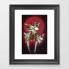 Caras Framed Art Print