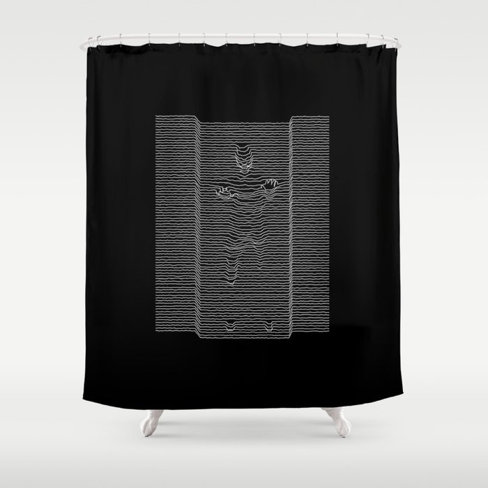 Joy Division: Going Solo Shower Curtain