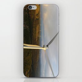 Quality Wind Project iPhone Skin