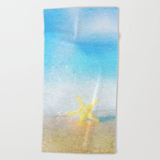 Tropical Sea #6 Beach Towel