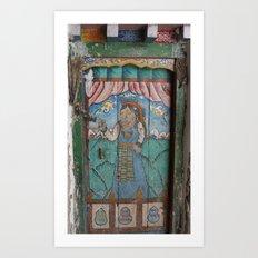 Lo Manthang Door - 2 of 2 Art Print