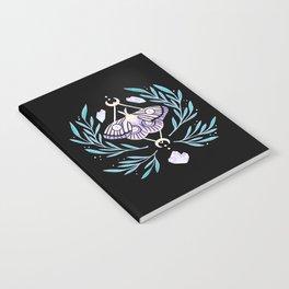 Moon Moth 01 Notebook