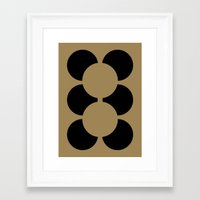 teddy bear Framed Art Prints featuring TEDDY BEAR by THE USUAL DESIGNERS