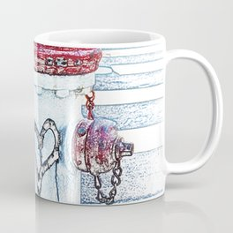 Love Fire Hydrant Coffee Mug