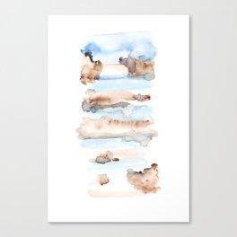 Frozen Summer Series 47 Canvas Print