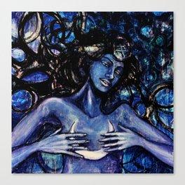 Nuit The Star Goddess Canvas Print