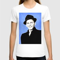 frank sinatra T-shirts featuring Frank Sinatra - My Way - Pop Art by William Cuccio aka WCSmack