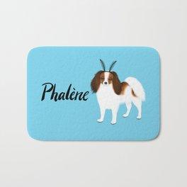 Phalène (Blue) Bath Mat