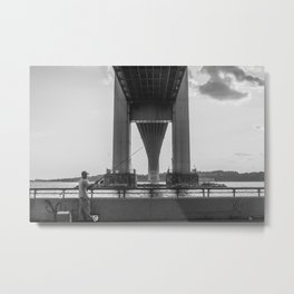 Under the Verrazano Metal Print