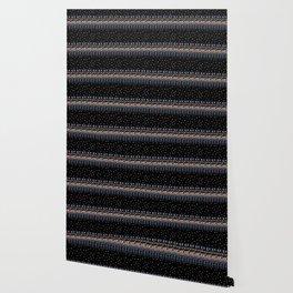 Retinal Circuitry - Color on Black Wallpaper