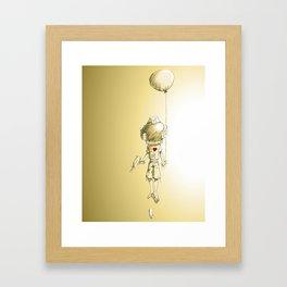 Solar Kid Framed Art Print