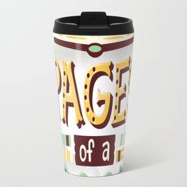 Between pages Travel Mug