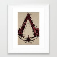 saga Framed Art Prints featuring Assassin's Creed Saga by s2lart