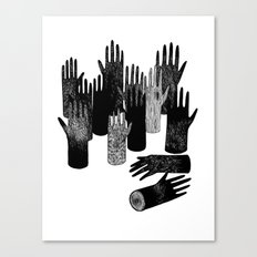 The Forest of Hands Canvas Print