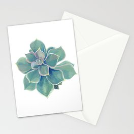 california rock rose succulent Stationery Cards