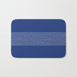 Traditional Japan blue Bath Mat