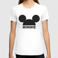 minnie T-shirts featuring MINNIE by ilola