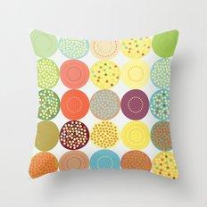 Circle pattern Throw Pillow
