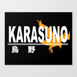 Karasuno High School Logo Canvas Print