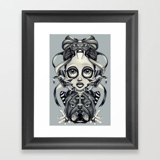"""Tattoeums III"" Framed Art Print"