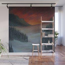 A Winter Wonderland Wall Mural
