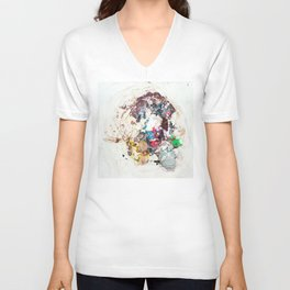 Abstract Geometric 10 Unisex V-Neck