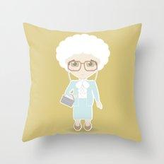 Girls in their Golden Years - Sophia Throw Pillow