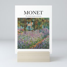 Monet - The Artist's Garden at Giverny Mini Art Print