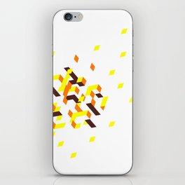 La colline mélancolique blanche iPhone Skin
