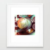 frames Framed Art Prints featuring Frames by Leandro