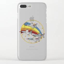 Moving Forward Clear iPhone Case