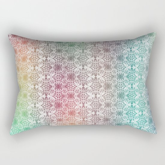 Ornamental Pattern 2 Rectangular Pillow