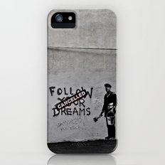 Dreams Cancelled Slim Case iPhone (5, 5s)