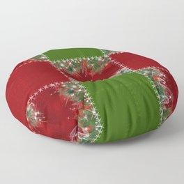 New year's design. Floor Pillow