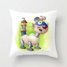Billymobile Throw Pillow