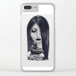 Tears of Oil Clear iPhone Case