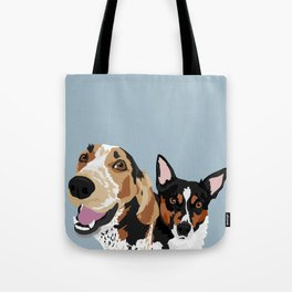 Freddy and Trigger Tote Bag