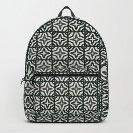 Dark Acrylic Tiles Backpack