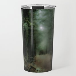 In the forest of Washington state, ponderosa pine trees Travel Mug
