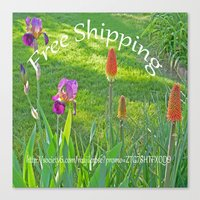 free shipping Canvas Prints featuring Free Shipping.... by Cherie DeBevoise