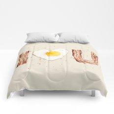 Bacon and Egg Comforters
